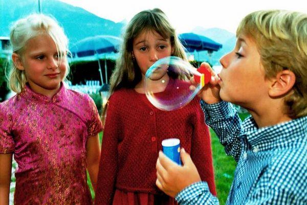 Seifenblasenwettbewerb