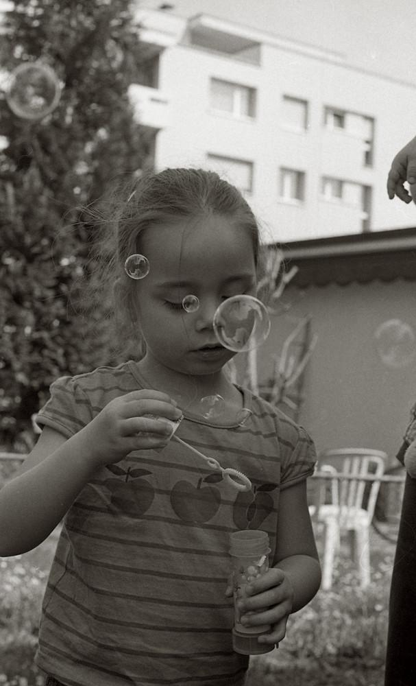 Seifenblasenzeit...