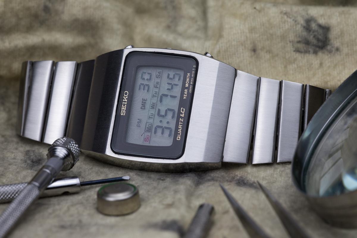 Seiko Quartz LC 4019