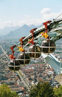 Seilbahn in Grenoble