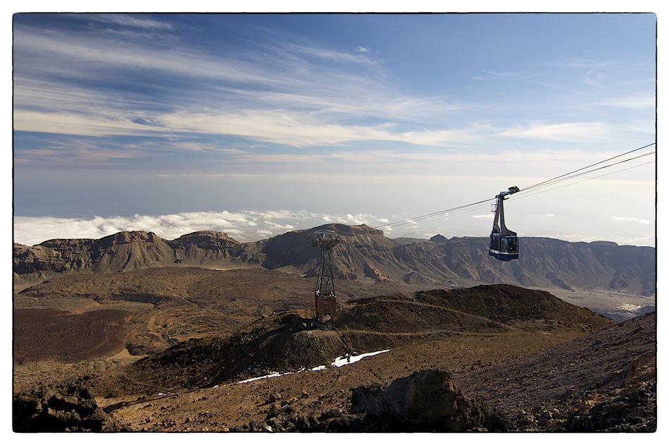 Seilbahn zum Teide