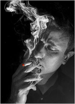 Seine letzte Zigarette?
