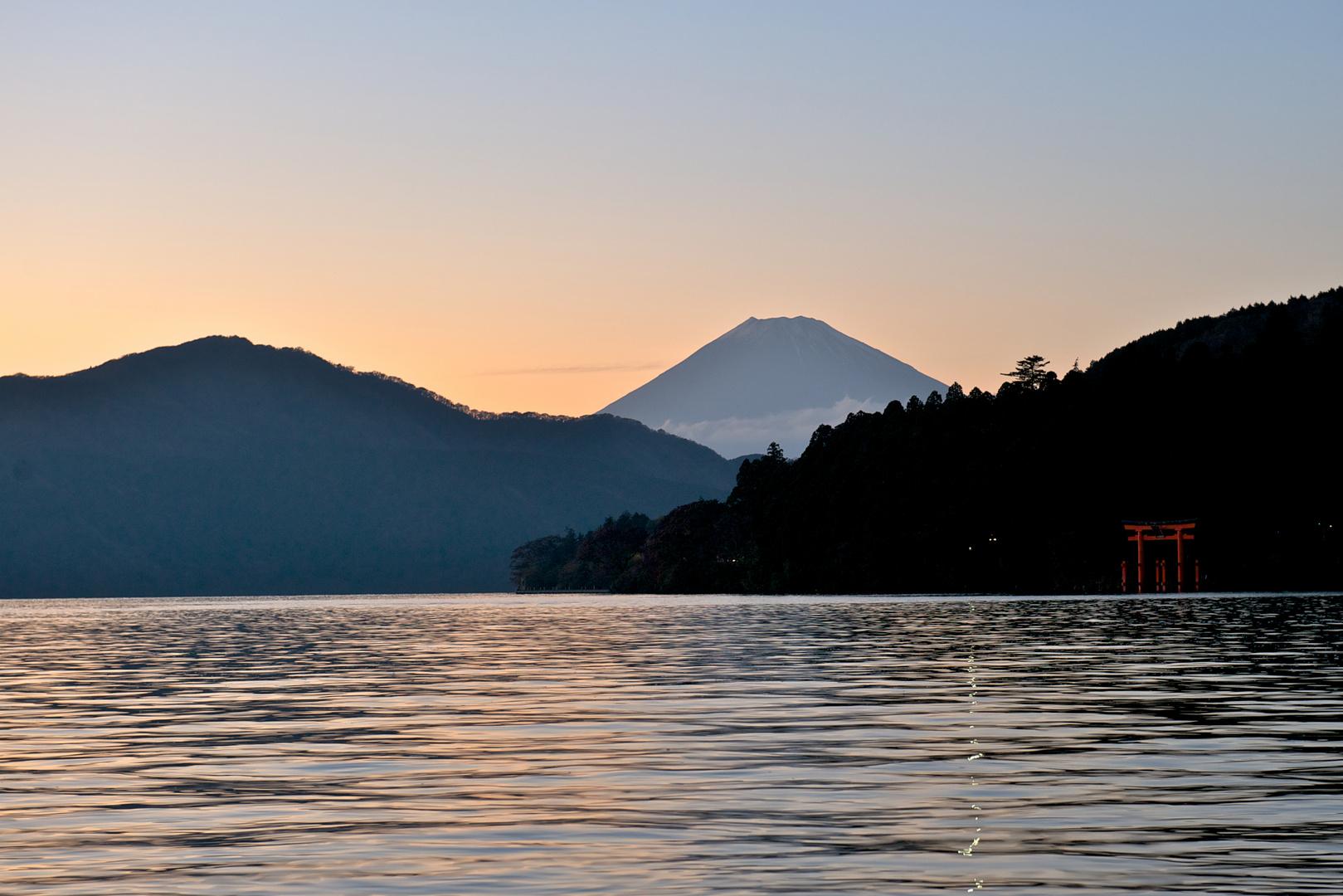 Seine Majestät, der Fuji.....