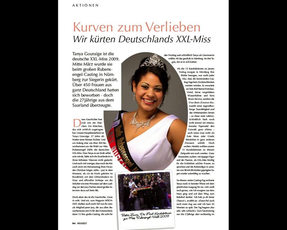 Seite 1 Miss Rubensengel Wahl 2009