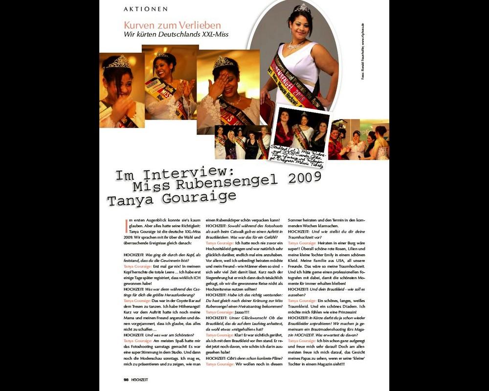 Seite 4 Miss Rubensengel Wahl 2009