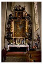 Seitenaltar in der Pfarrkirche KEFERMARKT/OÖ