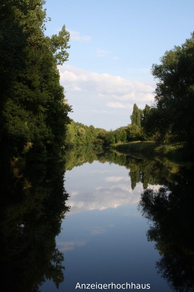 Seitenarm Maschsee Sommer 2009