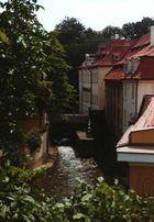 Seitenblick von der Karlsbrücke