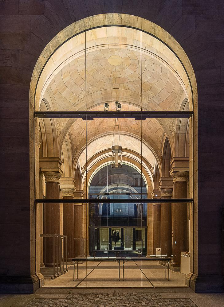 Seiteneingang Alte Nationalgalerie