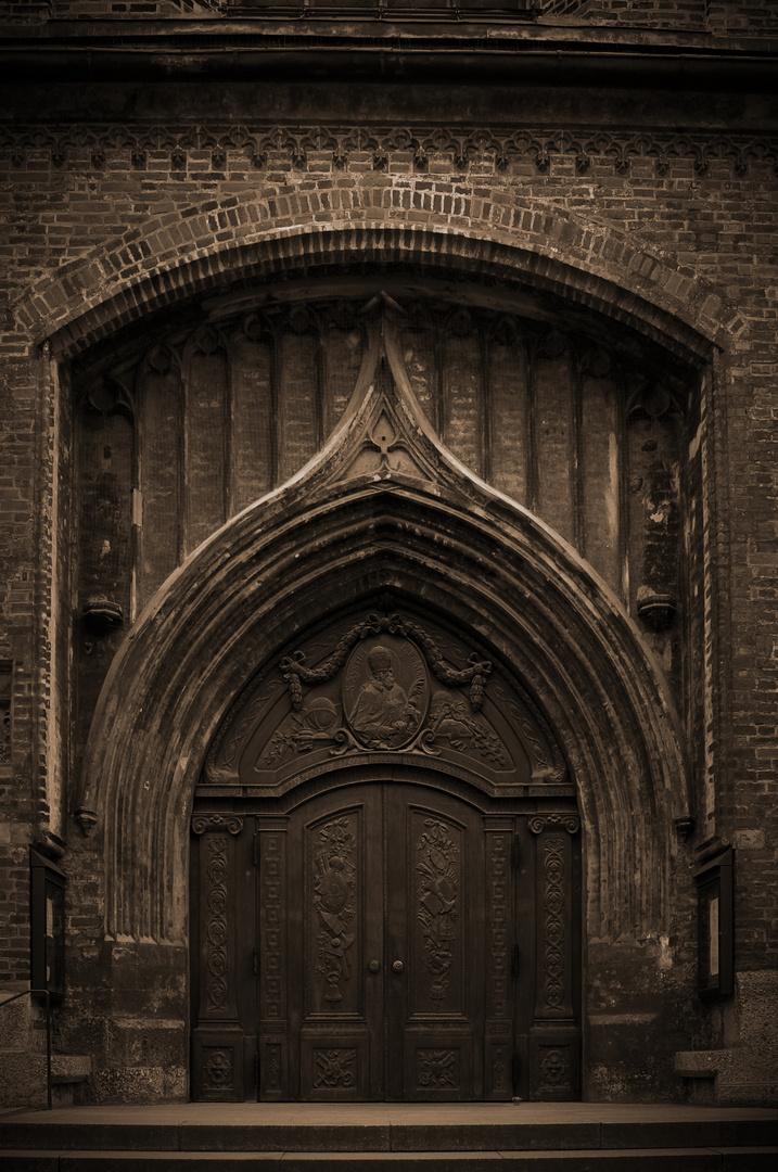 Seiteneingang der Frauenkirche München