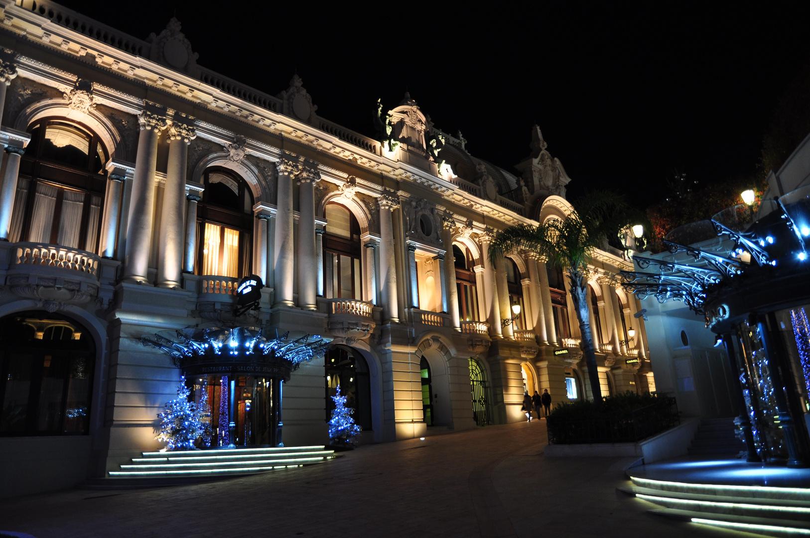 Seiteneingang vom Casino in Monaco
