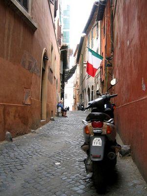 Seitengasse Rom's