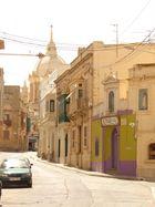 Seitenstraße auf Gozo