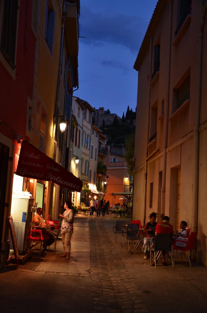 Seitenstrasse Cassis
