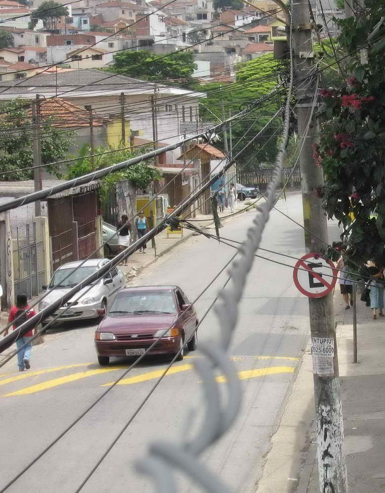 Seitenstrasse in Pirituba