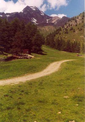 Seitental vom Etschtal (Südtirol)