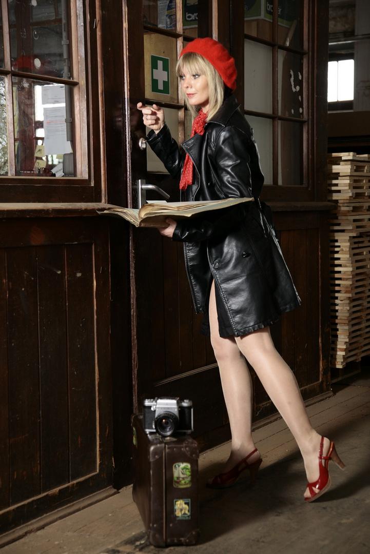 Sekretärin im Einsatz!!!