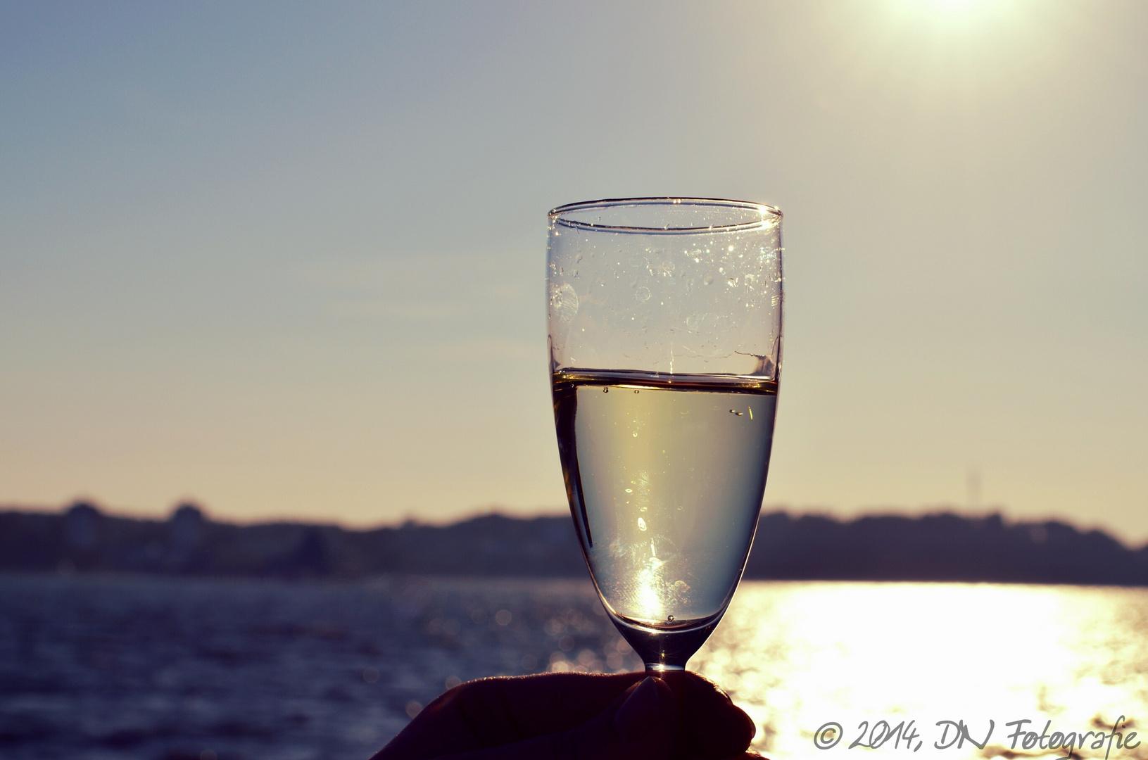Sekt , Sonne und Meer