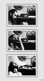 selbst portrait mit kater