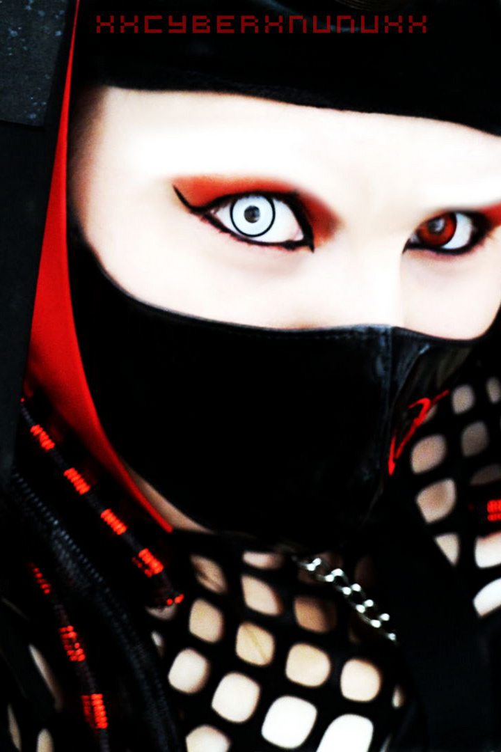 Selbstportrait - Cybergoth