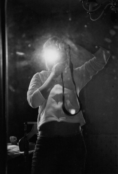Selbstportrait im supa-schmutzigen-spiegel