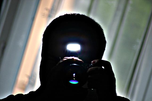Selbstportrait ... mit EOS 300D