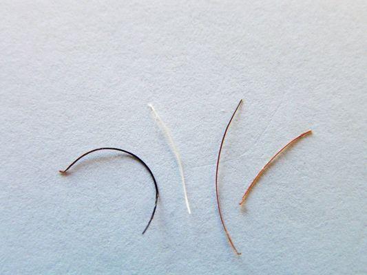 SELECT DISTINCT HAIR FROM BEARD