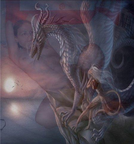 selene et dragon