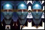 µself - AUFRUF: drei Formen eines Gesichtes