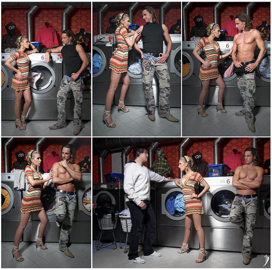 self-service laundry (making of) I