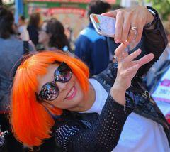 Selfie colorato...