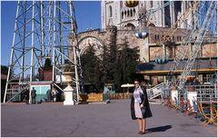 Selfie in Montjuic