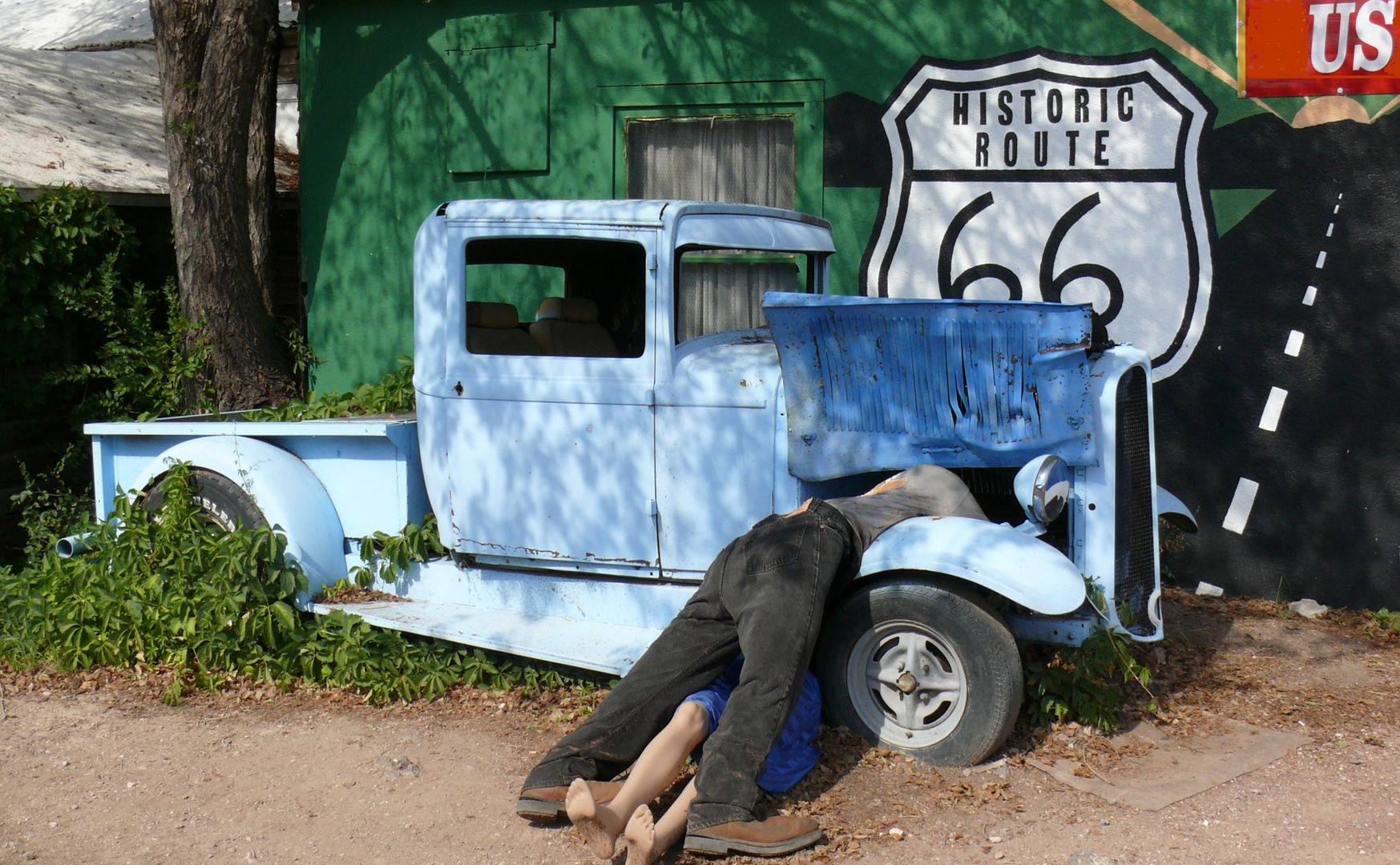 Seligman - sur la Route 66 - Arizona
