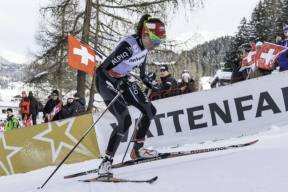 Selina Gasparin (SUI) am Weltcup in Davos