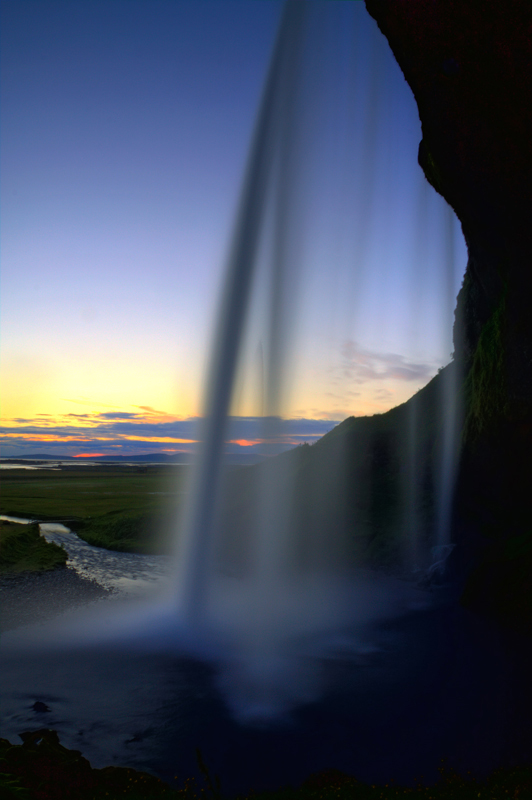 Seljalandsfoss 23:30 Uhr bea