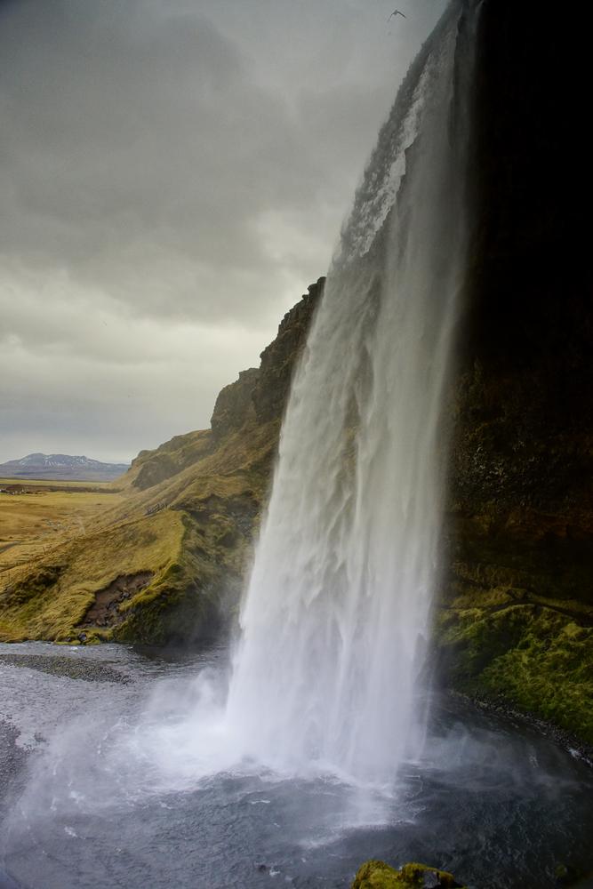 Seljalandsfoss,Island Februar 2013