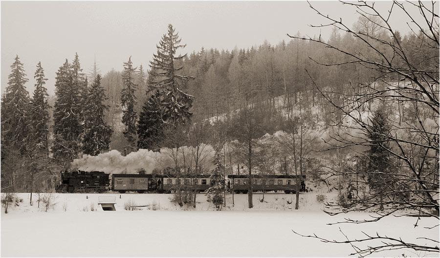 Selketalbahn - Am Heiligenteich