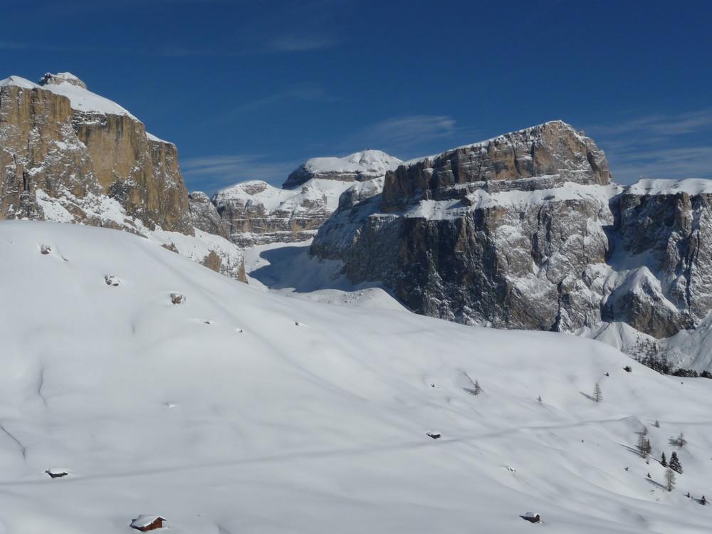 Sella Massiv-Dolomiten