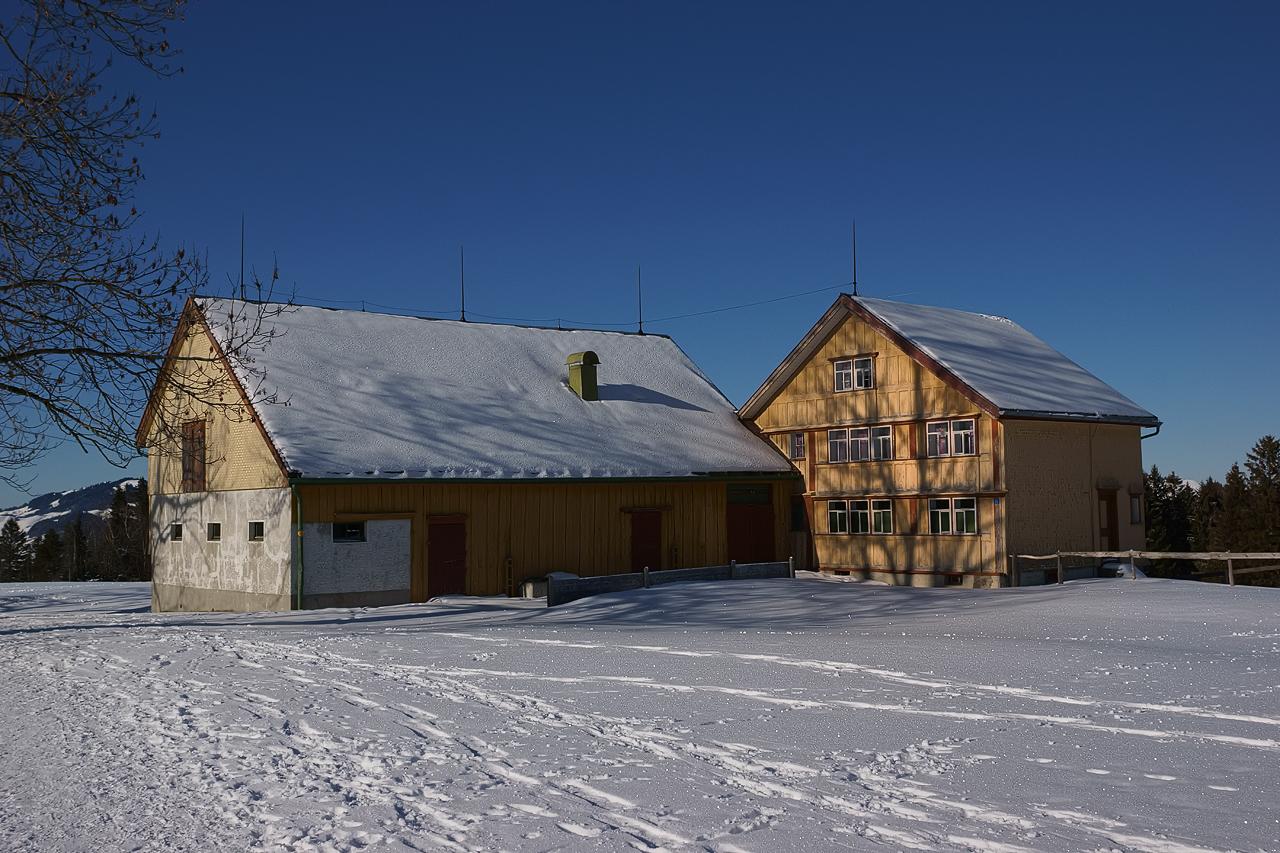 Seltenes Bauernhaus