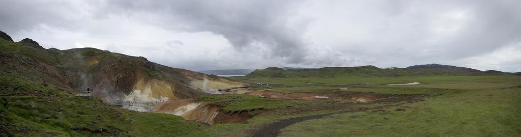 Seltun Islande