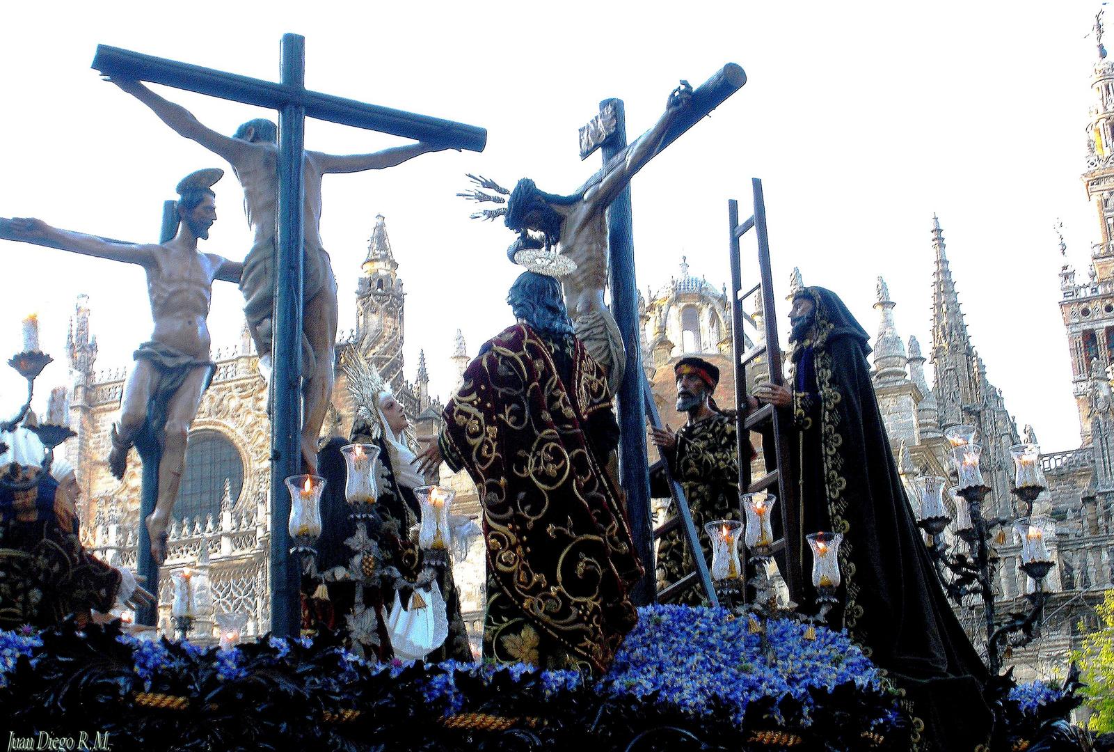 ** Semana Santa en Sevilla. **