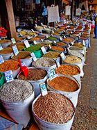 Semillas en el Mercado de Chillán