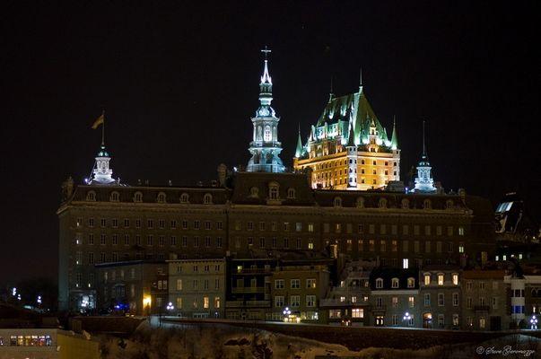 Séminaire de Québec la nuit