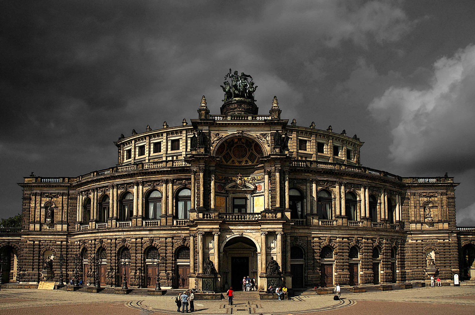 Semperoper mal anders