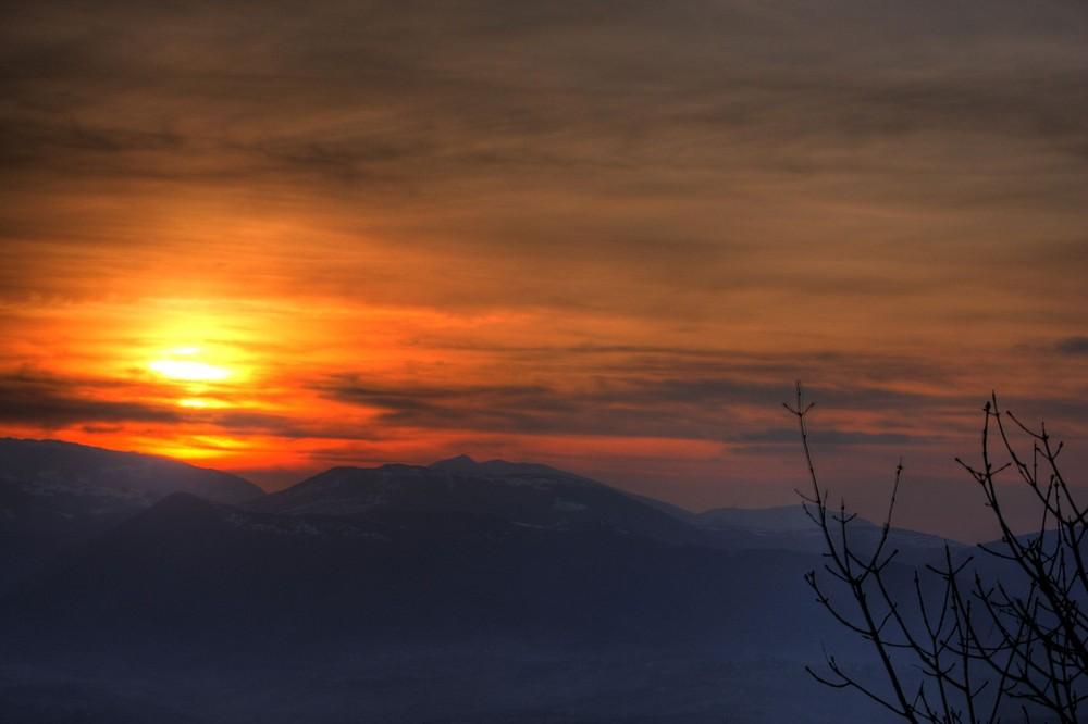 semplicemente....tramonto...