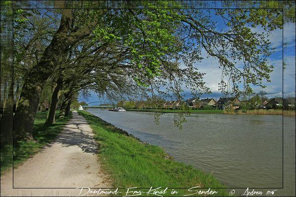 Senden - Spaziergang am Kanal (2)