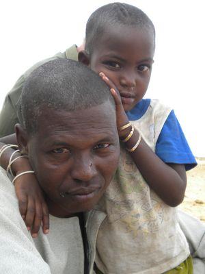 Sénegale village peule