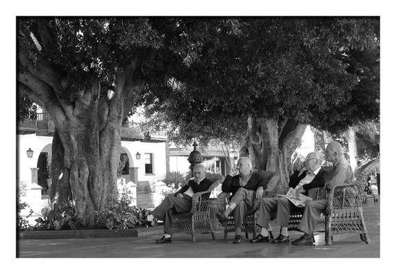 Senioren-Diskussionsrunde