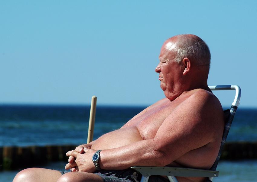 Seniorensonnenbad 2