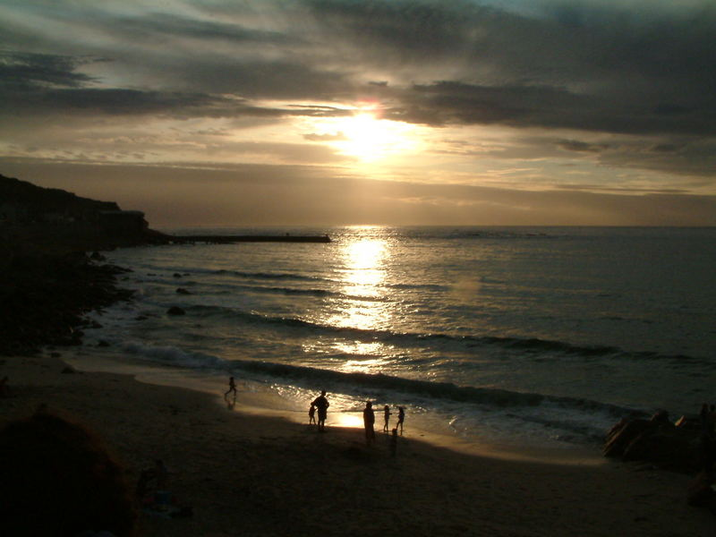 Sennen at sunset